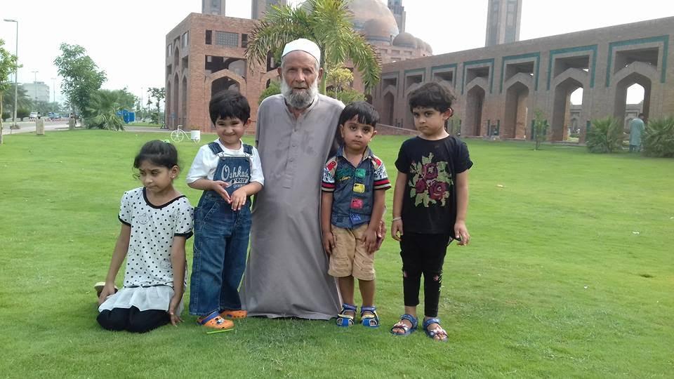 dr niazi with kids