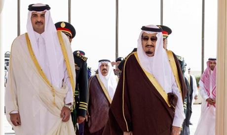 ameer qatar and saudia